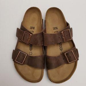 Birkenstock Arizona Habana Leather 39